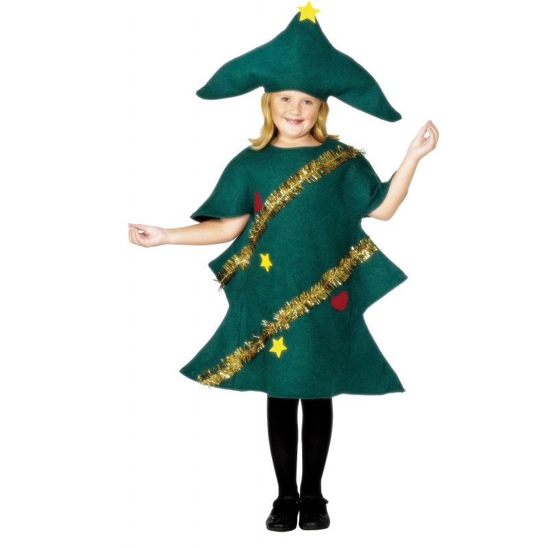 Kerstboom kinderkostuum