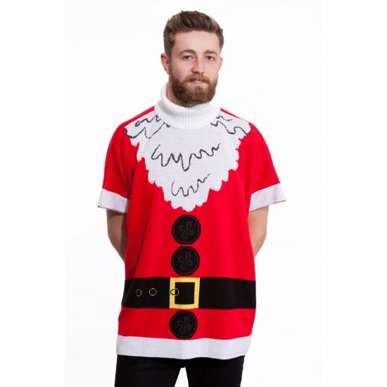 Kersttrui Fout.Maffe Truien Nl Kersttrui Kerstman Heren Poncho