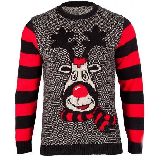 Kersttrui Rudy Reindeer voor dames Multi