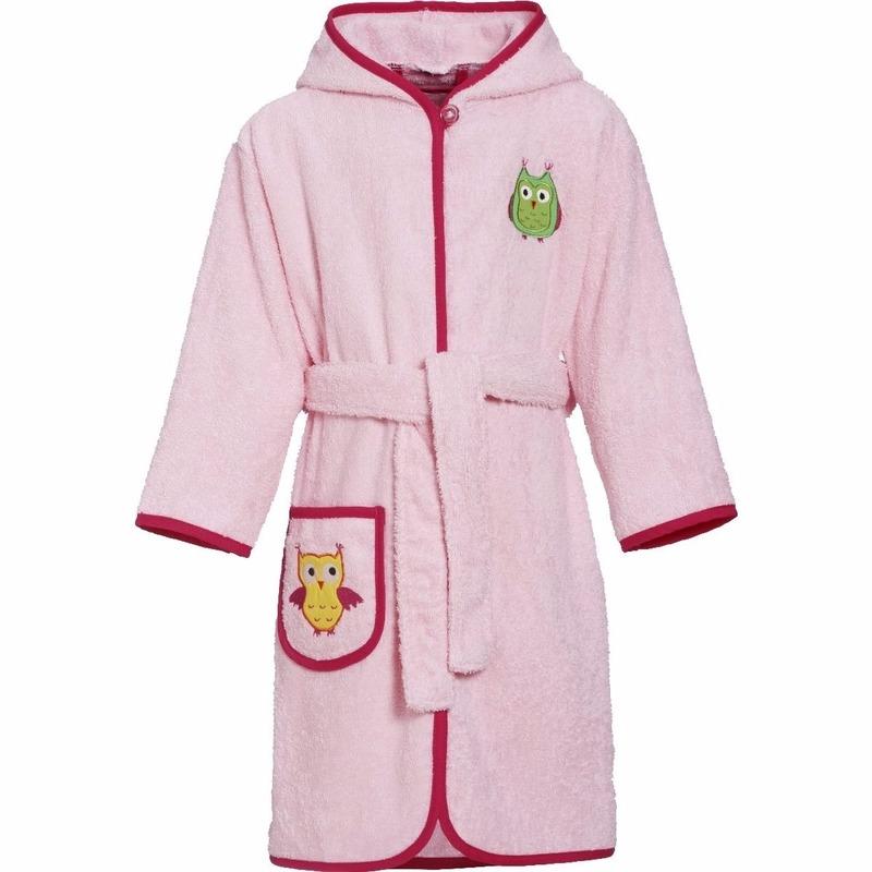 Kleding accessoires Kinder badjas roze