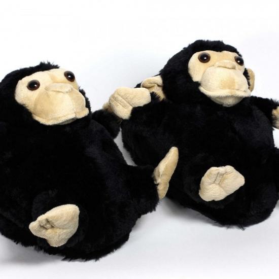 Kinder dieren sloffen aap Bellatio Hoge kwaliteit