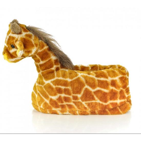 Kinder dieren sloffen giraffe Bellatio Sloffen en Pantoffels