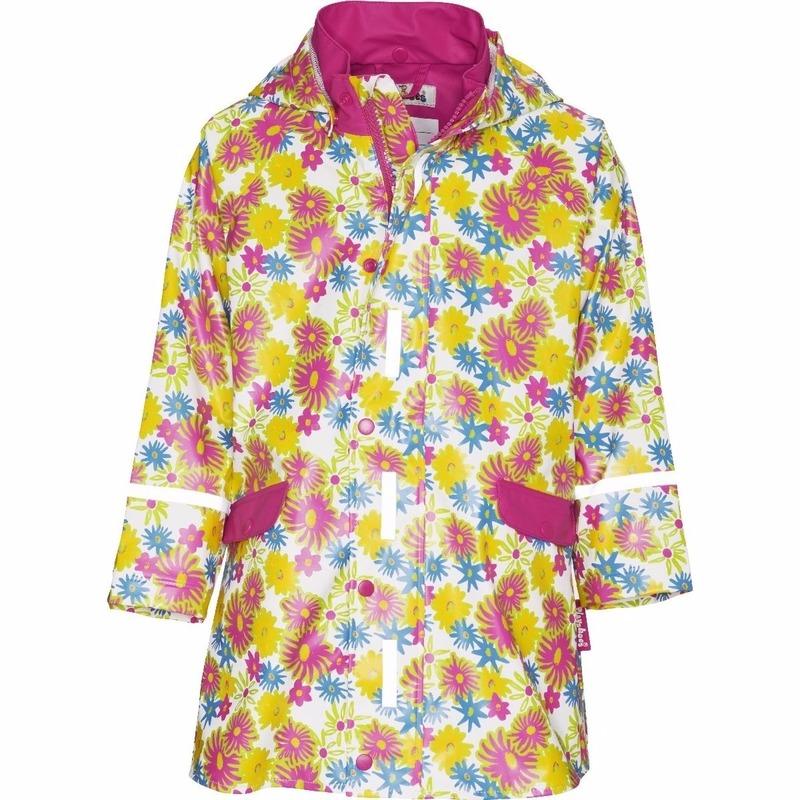 Playshoes Kinder regenjas bloemen design Regenpakken en poncho