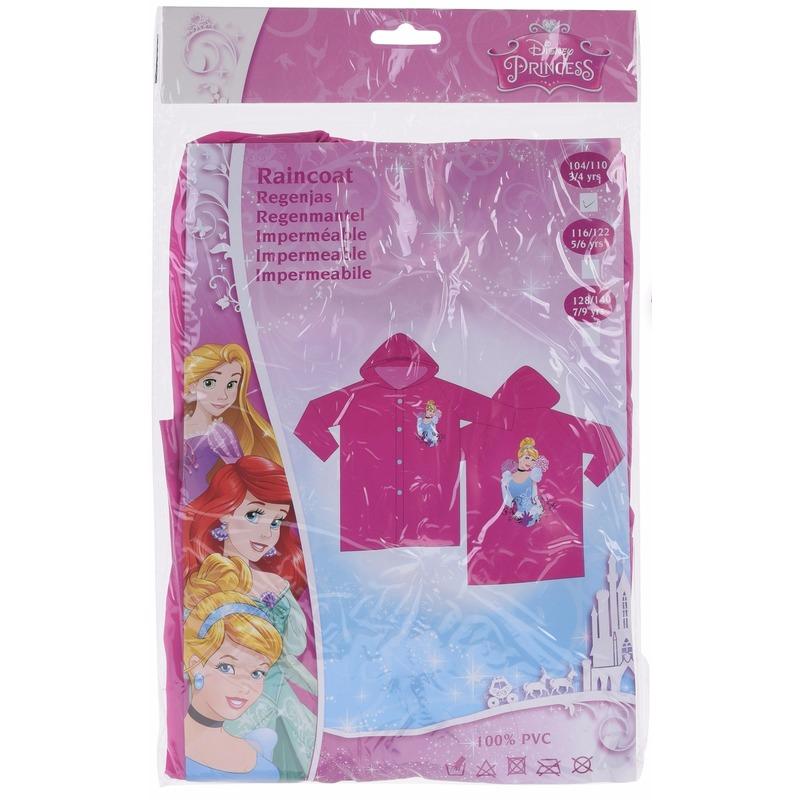 Kinder regenjas Disney Princess roze Geen laagste prijs