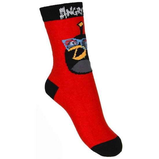 Sokken en Panty's Angry Birds Kindersokken Angry Birds rood