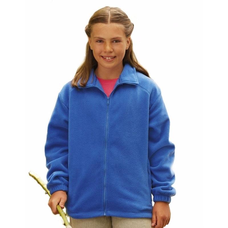 Truien en sweaters Kobaltblauw fleece vest voor meisjes