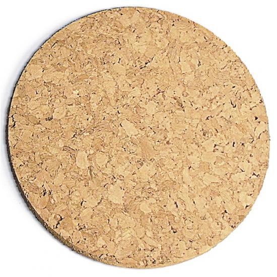 Rayher hobby materialen Kurk pannen onderzetter dik 20 cm Bruin
