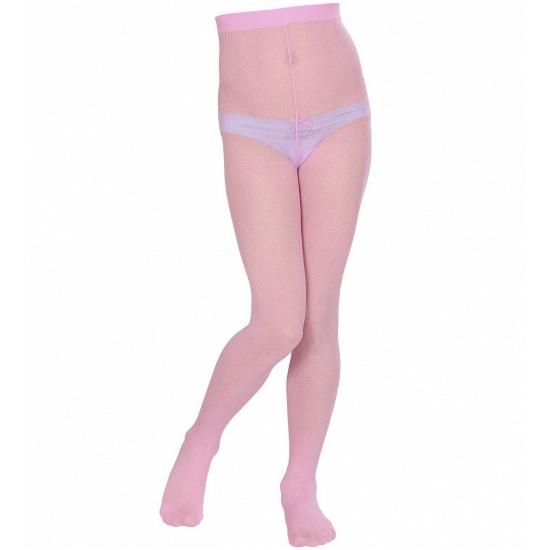 Lichtroze panty voor kinderen