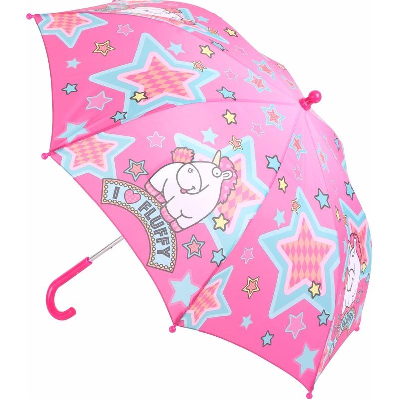 Geen Minion eenhoorn Fluffy kinder paraplu Outdoor Vakantie