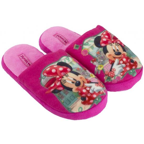 Sloffen en Pantoffels Disney Minnie Mouse pantoffels roze