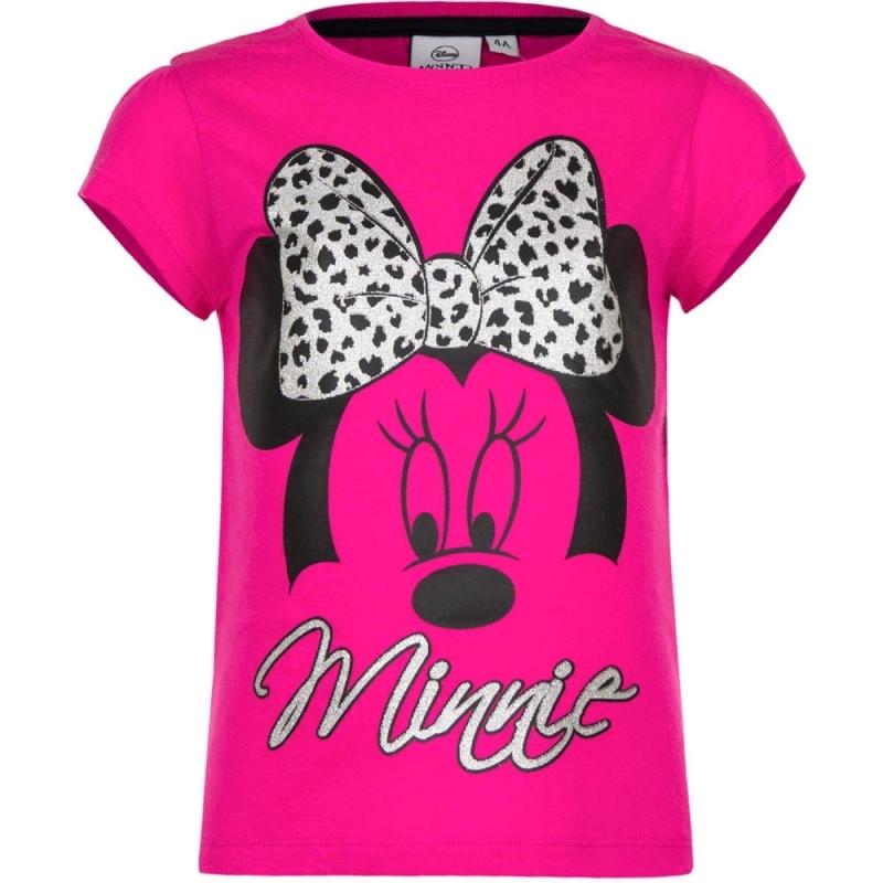 T shirts en poloshirts Disney Minnie Mouse t shirt fuchsia voor meisjes