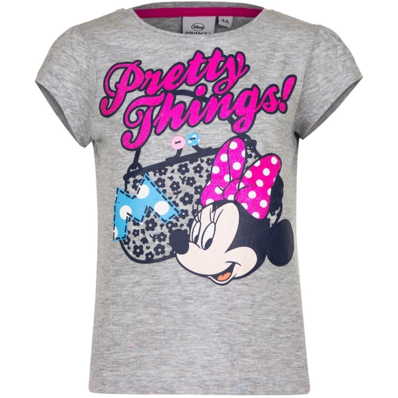 T shirts en poloshirts Minnie Mouse t shirt grijs voor meisjes