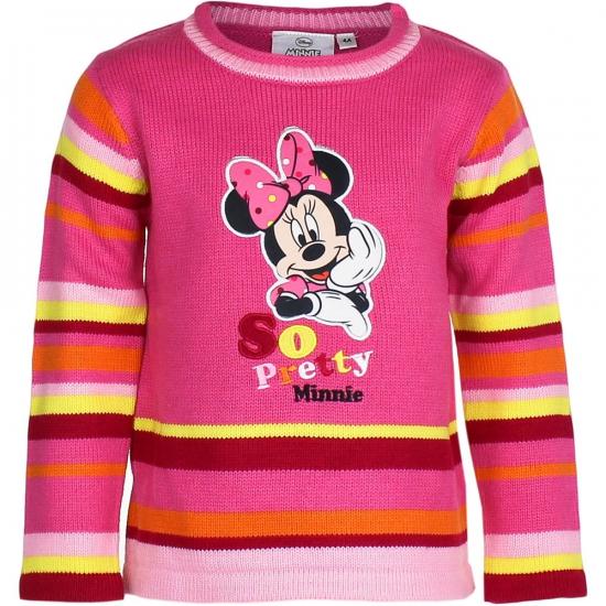Truien en sweaters Disney Minnie Mouse trui fuchsia