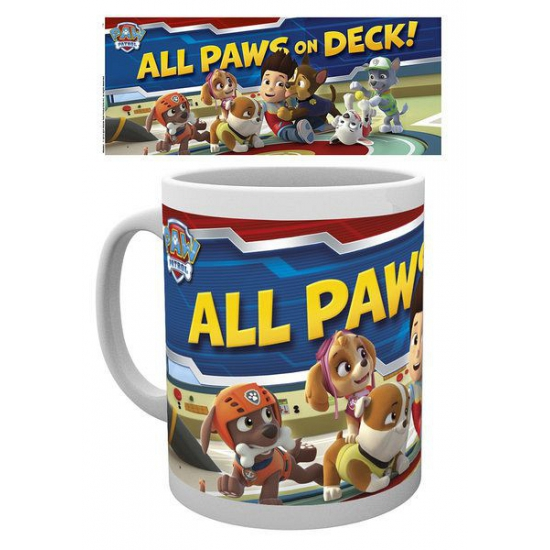 Mok Paw Patrol All Paws on Deck