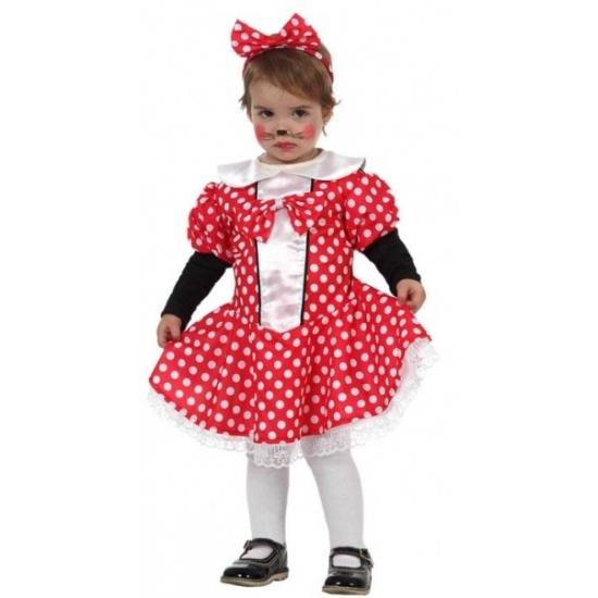 Muizen meisje jurkje voor peuters
