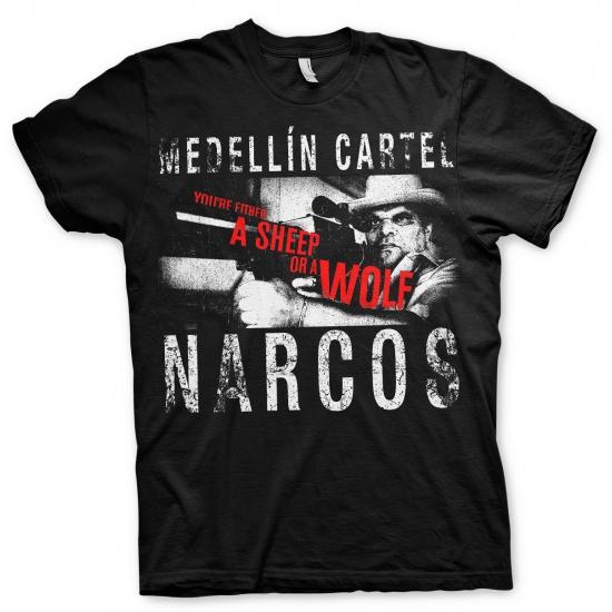 Narcos Medellin Cartel t shirt heren Bellatio goedkoop online kopen