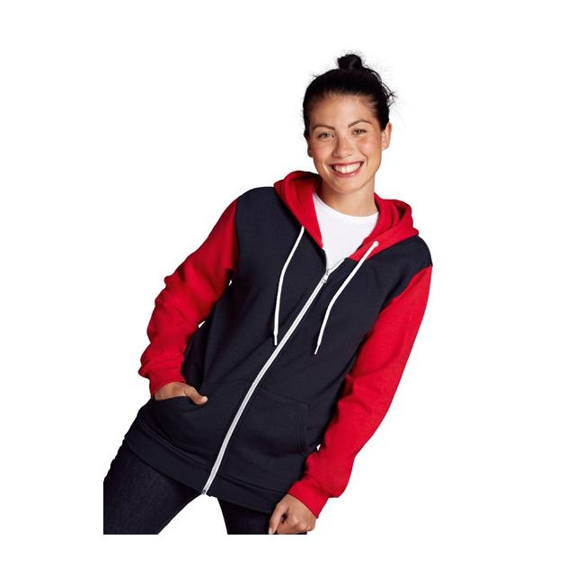 Truien en sweaters Sols Navy met rood vest voor dames