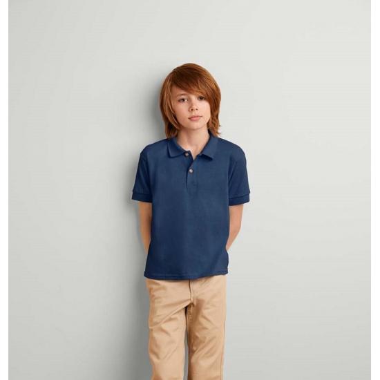 Gildan Navy poloshirt voor jongens T shirts en poloshirts