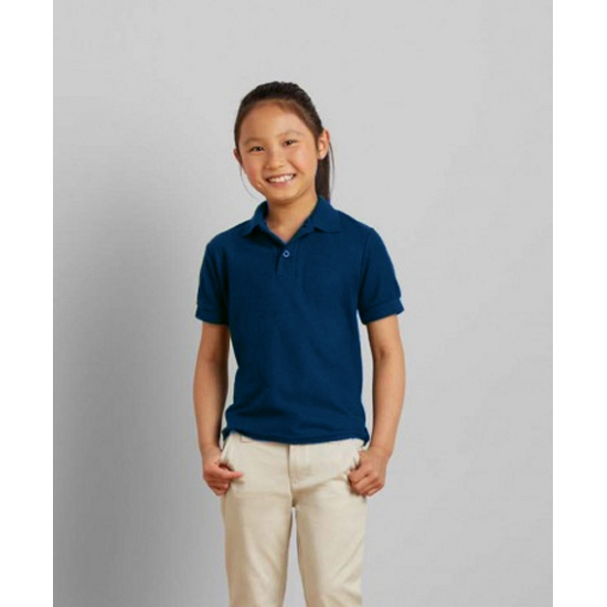 T shirts en poloshirts Navy poloshirt voor meisjes