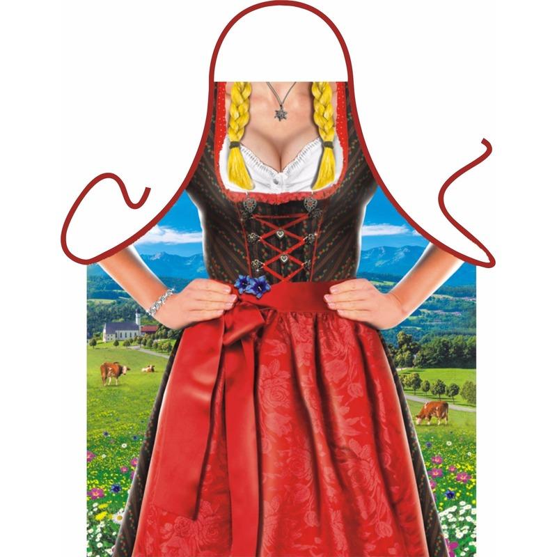 Oktoberfest - Sexy schort Tiroler vrouw dirndl Multi