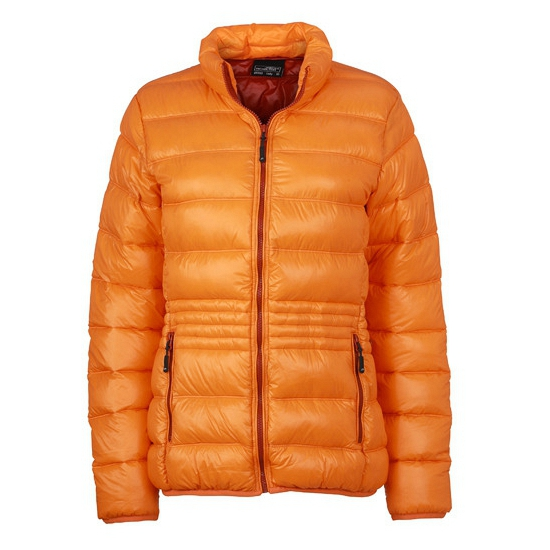 Oranje donsjas voor dames James Nicholson Jassen en bodywarmers