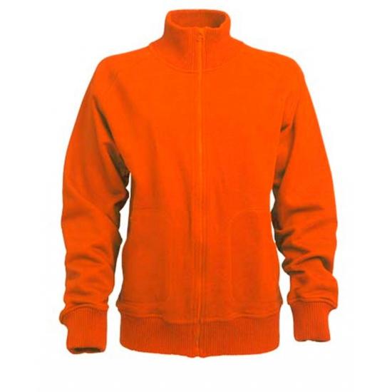 Oranje Lemon and Soda vest voor dames en heren Lemon Soda Truien en sweaters