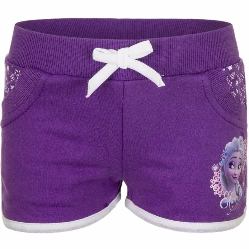 Broeken Disney Paarse Frozen meisjes shorts