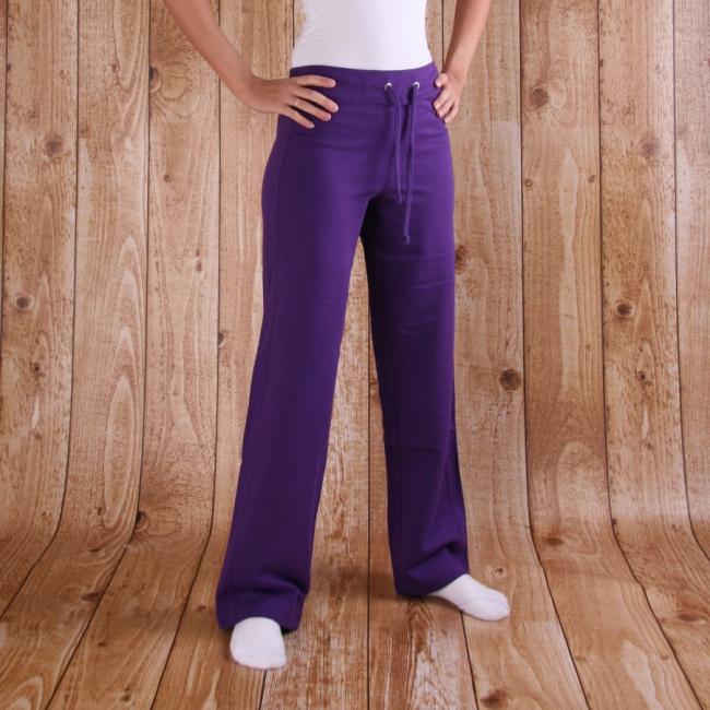 Paarse joggingbroek voor dames AWDis Sportkleding