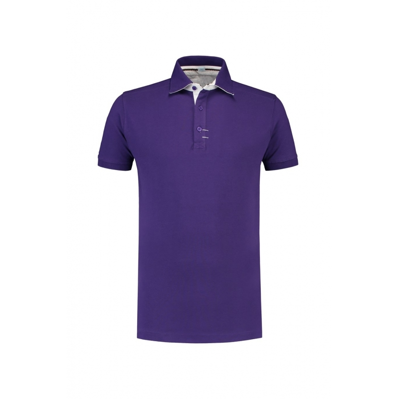 T shirts en poloshirts Paarse polo voor heren