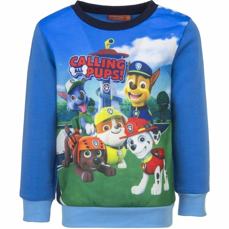 Truien en sweaters Paw Patrol Paw Patrol jongens sweater blauw