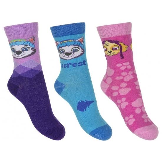 Paw Patrol meisjes sokken 3 pak Everest Paw Patrol Sokken en Panty's