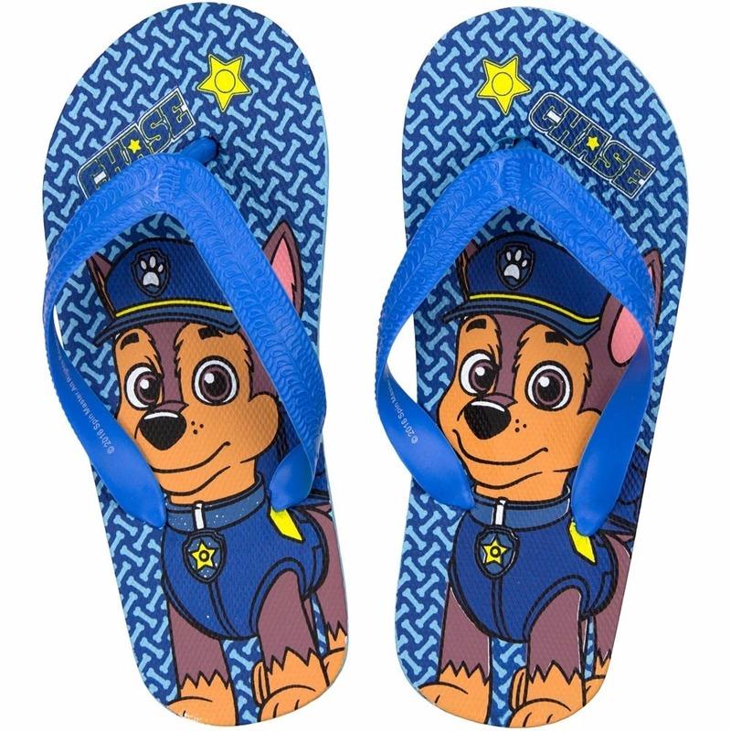 Schoenen en laarzen Paw Patrol teenslippers Chase voor jongens