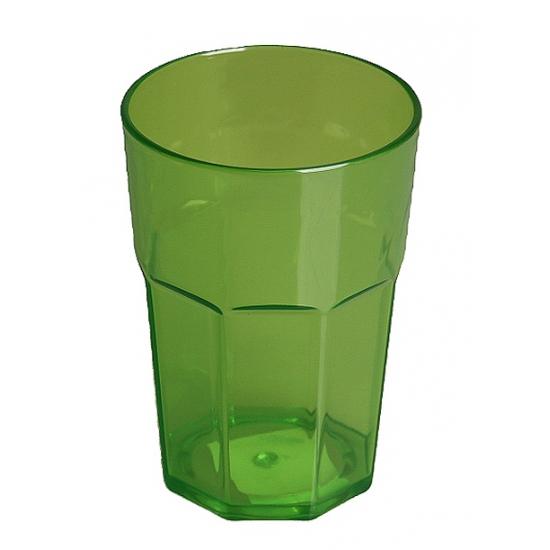 Groen Glas Keuken : Plastic glas groen 12 cm Fris & Waterglazen Bellatio