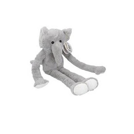 Pluche knuffel olifant van 55cm. grote knuffelbeest olifant.