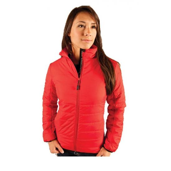 Rode dames jas waterafstotend Fiberloft Stormtech voordeligste prijs
