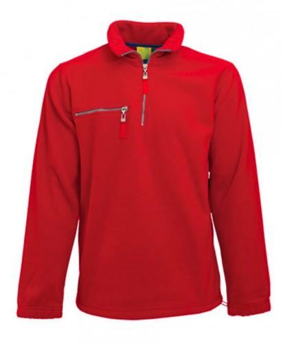 Truien en sweaters Lemon Soda Rode fleece trui voor volwassenen