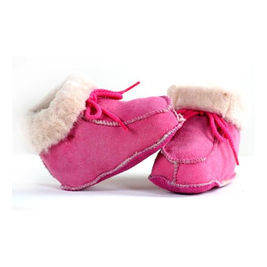 Sloffen en Pantoffels Roze baby sloffen