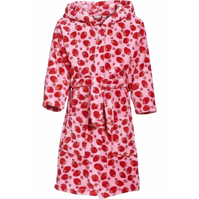 Kleding accessoires Roze badjas aardbei voor meisjes