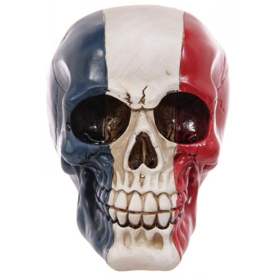 Schedel Franse vlag opdruk