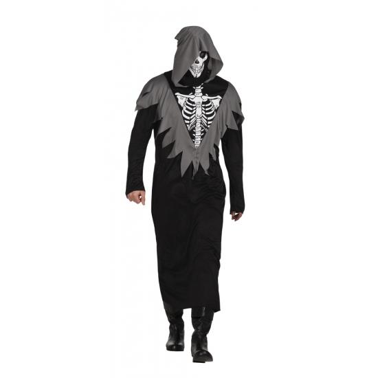 Skelet bewaker kostuum
