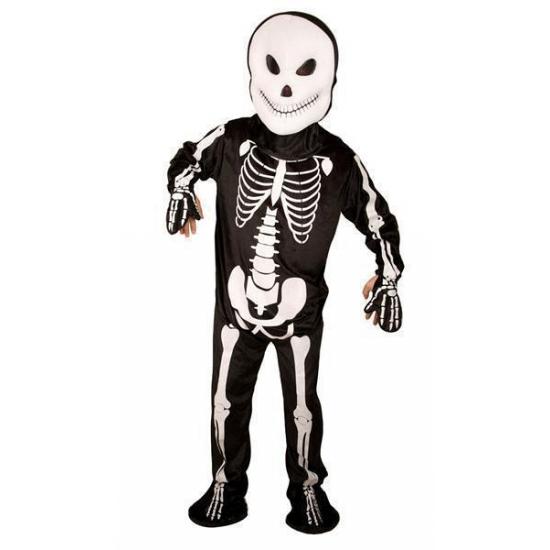 Skelet jumpsuit voor volwassenen