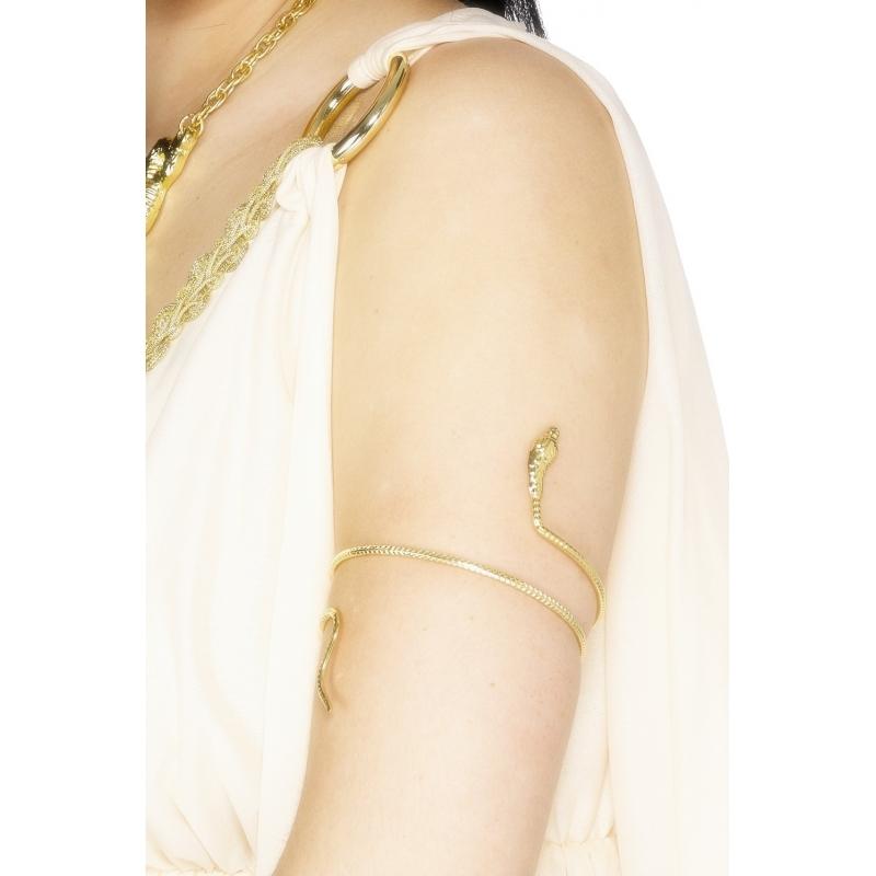 Slangen armband voor bovenarm