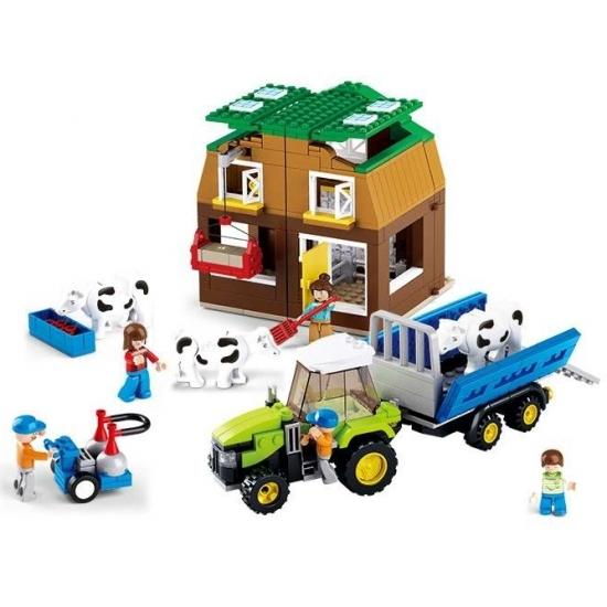 Sluban boerderij bouwset