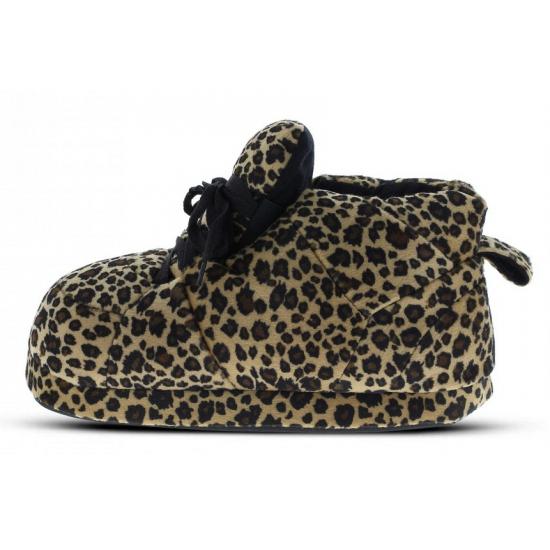 Sneaker sloffen dames luipaard bruin Bellatio Premier