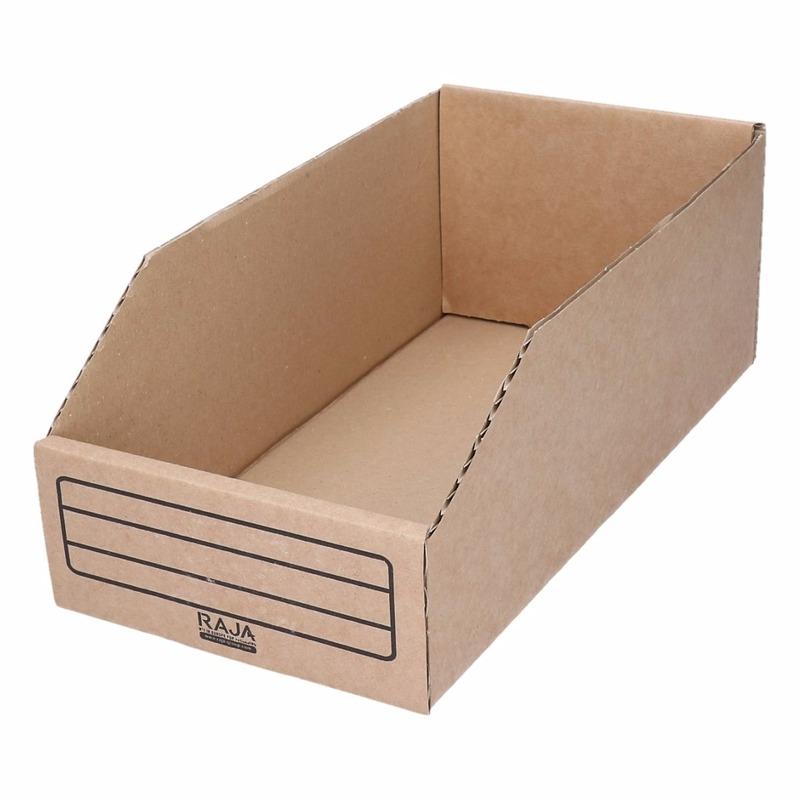 Sorteer/opslag bakje 15 cm breed x 30 cm lang x 10 cm hoog. materiaal: karton. handig voor uw kleine ...