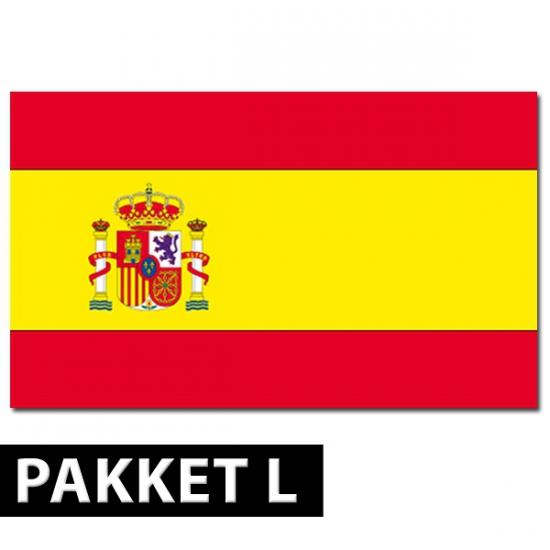 Spanje versiering pakket groot