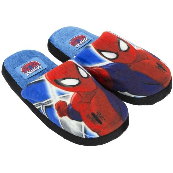 Sloffen en Pantoffels Spiderman pantoffels blauw