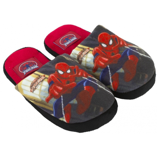 Disney Spiderman pantoffels rood Sloffen en Pantoffels
