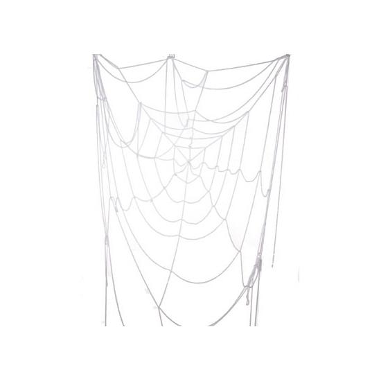 Spinnenweb decoratie wit 110 cm