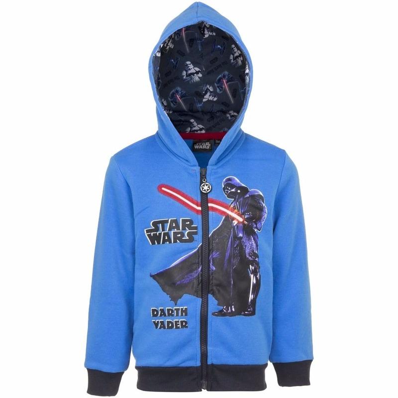 Truien en sweaters Bellatio Star Wars sweater met rits blauw